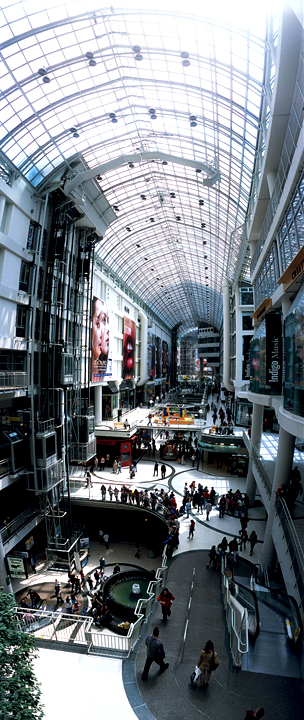 Ampliar Eaton Centre, Toronto