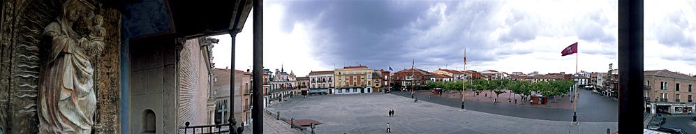 Ampliar Plaza Mayor de la Hispanidad, Medina del Campo