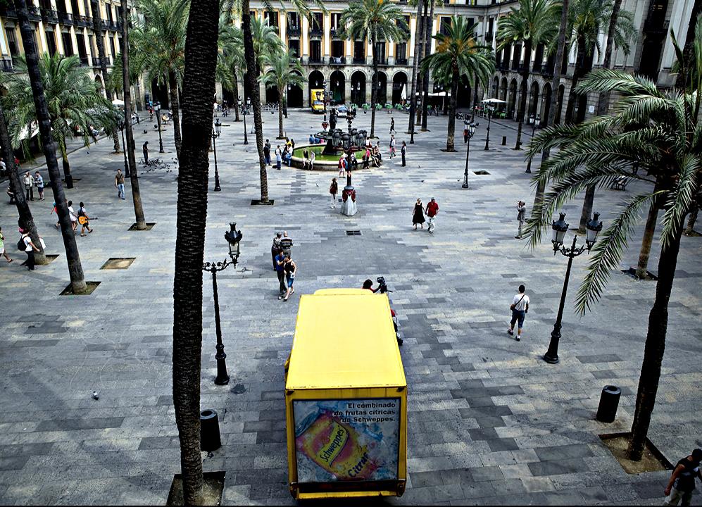 Ampliar Plaça Reial, Barcelona