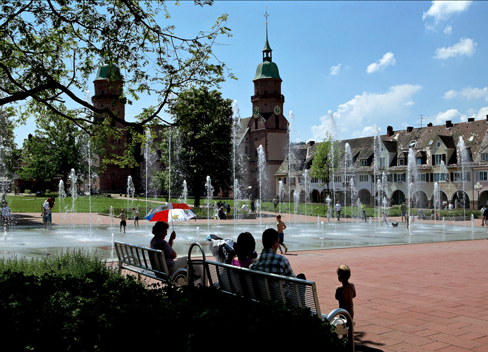 Ampliar Marktplatz, Freudenstadt