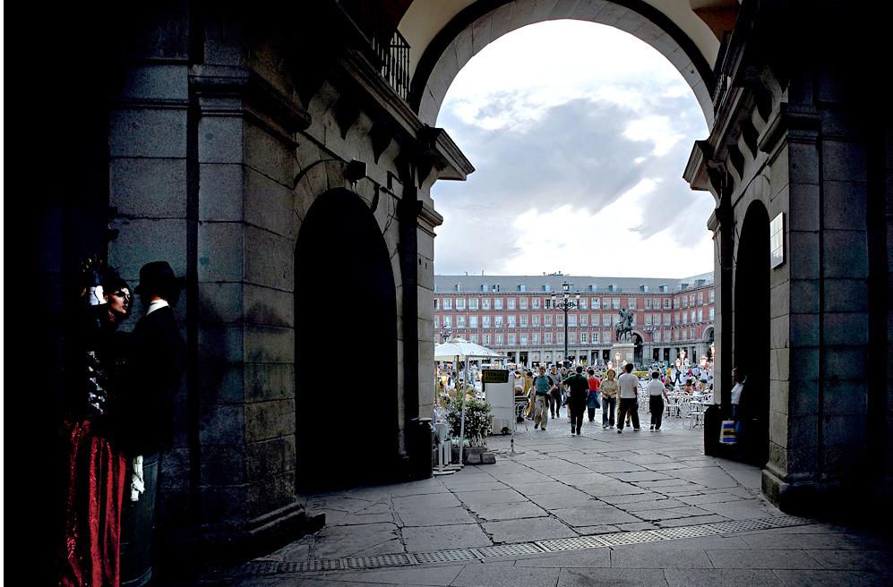 Ampliar Plaza Mayor, Madrid