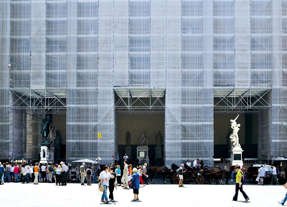 Ampliar Piazza della Signoria, Florencia