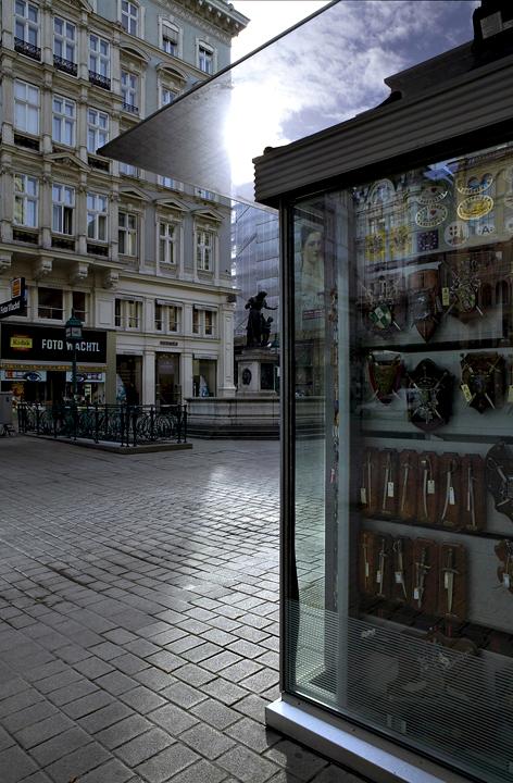 Ampliar Graben, Viena