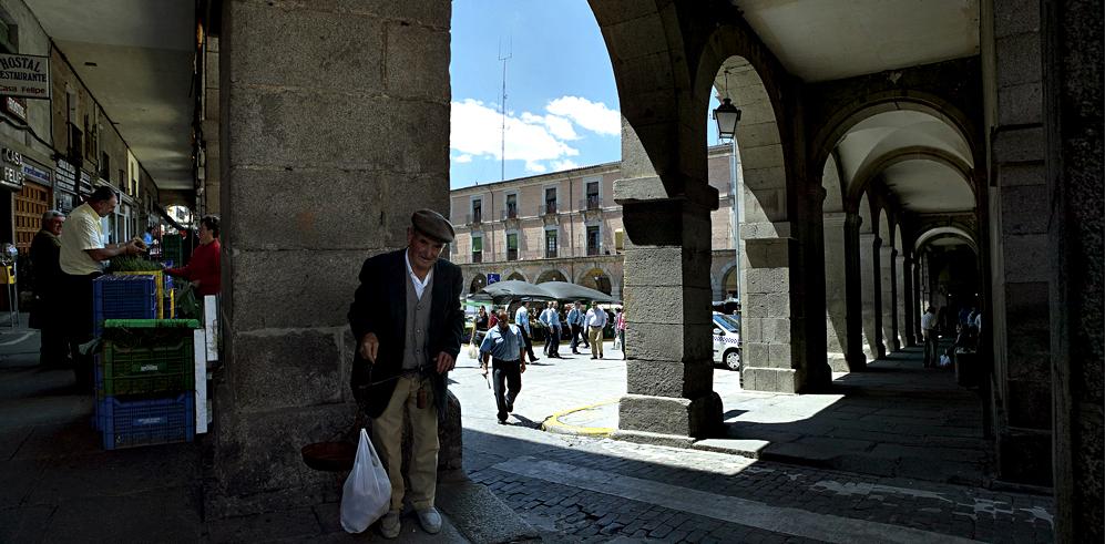 Ampliar Plaza Mayor o Mercado Chico, Ávila
