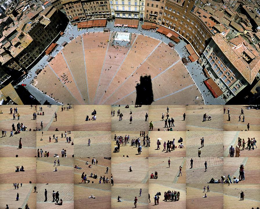 Ampliar Plaza del Campo, Siena